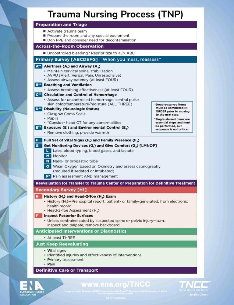 Trauma Nursing Process