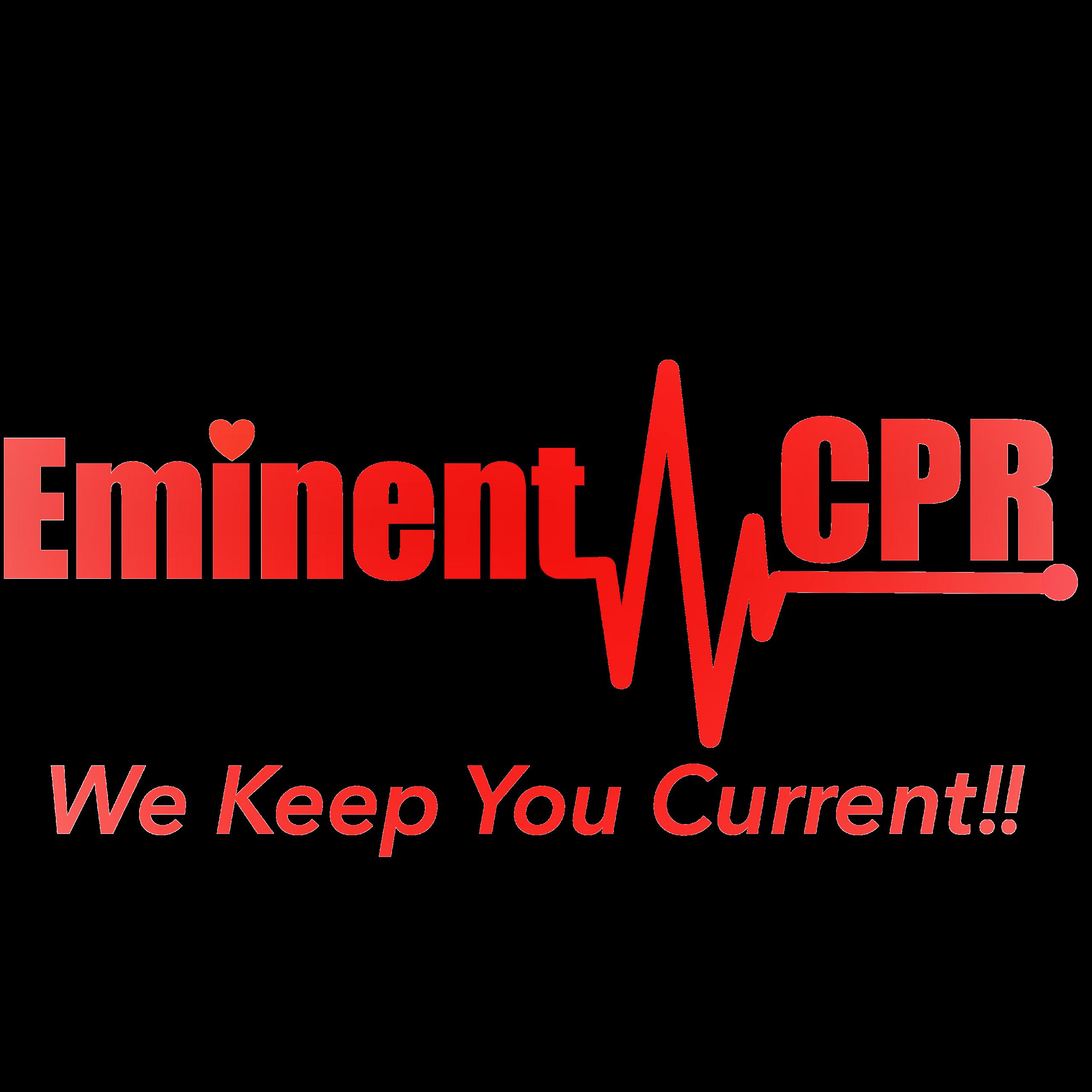Eminent CPR logo front of website